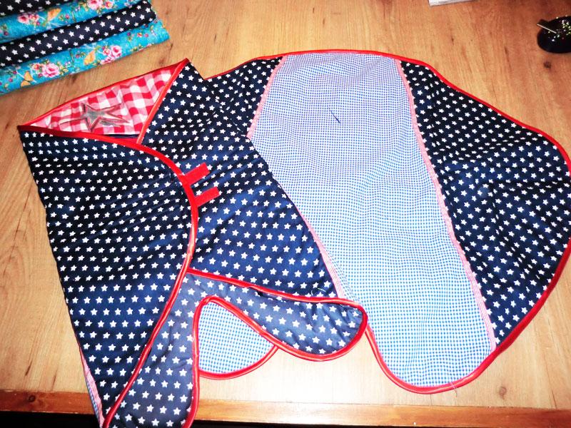 Baby-wikkeldoek voor web-shop It's made by
